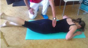 Svalový test oslabených svalů